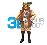 3D-Avatar von 3DyourBody