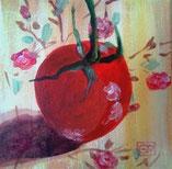 toile peinte tomate