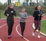 Karolin, Lea und Hanna