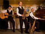 Jazzband, Jazz Trio, Saxofon, Klavier, Bass