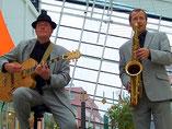 Jazzduo, Swingmusik Duo,  Saxophon, Gitarre