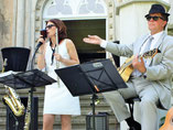 Livemusik Duo, Saxophon, Flöte, Sängerin, Gitarre