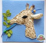 Giraffe Fühlbuch Spielbuch Quiet book Montessori