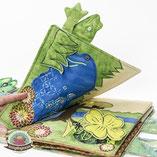 Spielbuch Märchenbuch zum Spielen Stoffbuch Fühlbuch Softbuch Babybuch Nähanleitungen