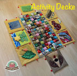 Krabbeldecke, Spieldecke, Activity Decke, Mobilität für Krabbelkinder , Ansporn zum krabbeln , Anleitung
