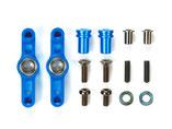 TT-02 Tuningteil, TAMIYA 300054574, Racing Steering-Set, Lenkhebel Alu blau