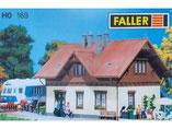 Bahnwärterhaus, Plastik-Modellbausatz der Firma Faller, 130169