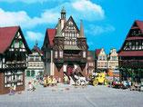 Rathaus Wernigerode, Alte Post, Plastik-Modellbausatz der Firma Vollmer, 3748