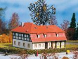 Oberlausitzer Umgebindehaus, Plastik-Modellbausatz der Firma Auhagen, 11379