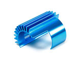 TT-02 Tuningteil, TAMIYA 300054571, Motor Heat Sink, Motorkühlkörper Alu blau