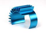 TAMIYA  TT-01;  300053664; blauer Motorkühlkörper