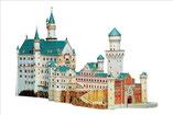 Neuschanstein, Burgen und Schlösser als Kartonmodelle