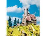 Burg Schloss Lichtenstein, Plastik-Modellbausatz der Firma Faller, 130245