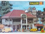 Post, Postamt, Plastik-Modellbausatz der Firma Faller, 110356
