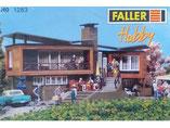 moderne Villa im Tessin, Plastik-Modellbausatz der Firma Faller, 211283