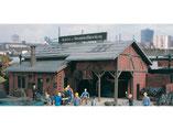 Kohlen-Brennstoffhandlung, Plastik-Modellbausatz der Firma Vollmer, 5615