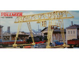 Verladebrücke, Plastik-Modellbausatz der Firma Vollmer, 5625