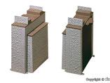 Brückenkopf-Garnitur, 2-Teilig, Plastik-Modellbausatz der Firma Vollmer, 42541