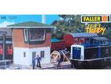 Blockstelle, Plastik-Modellbausatz der Firma Faller, 131220