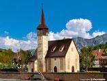 Kirche, Plastik-Modellbausatz der Firma Vollmer, 49210