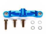 TT-02 Tuningteil, TAMIYA 300054575, Steering Bridge, Lenkhebelverbinder Alu blau