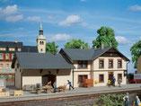 "Bahnhof ""Oberrittersgrün"", Plastik-Modellbausatz der Firma Auhagen, 11362"