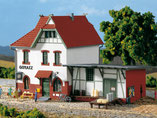 "Spreewald Bahnhof ""Goyatz"", Plastik-Modellbausatz der Firma Auhagen, 11347"