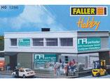 Computer-Center, Plastik-Modellbausatz der Firma Faller, 211286