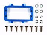 TAMIYA  DT-03  Aluminium Lenkservo-Halterung  blau