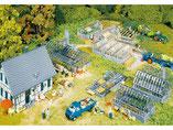 Gärtnerei, Plastik-Modellbausatz der Firma Faller, 130253