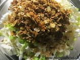 Mie-Nudel-Salat in der Pfanne und Glasschüssel von Pampered Chef aus dem Onlineshop