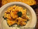 Mac & Cheese Mac and Cheese in der Ofenhexe oder Ofenmeister von Pampered Chef aus dem Onlineshop