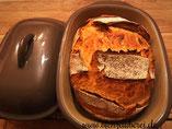 Brot im Ofenmeister oder Zaubermeister, Brotbackform von Pampered Chef aus dem Onlineshop