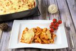 Vegetarischer Nudelauflauf Margherita in der Ofenhexe oder Ofenmeister von Pampered Chef aus dem Onlineshop