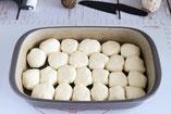 Pizzabällchen Mini Calzone Pizza in der Ofenhexe von Pampered Chef aus dem Onlineshop