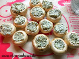 Gefüllte Champignons im Baconmantel auf mediterranem Gemüse in der Ofenhexe von Pampered Chef aus dem Onlineshop