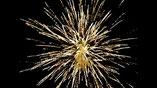 Geburtstagsfeuerwerk mit Musik - Großkugel