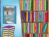 plaats elk boek juist in de kast