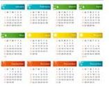 maanden : aantal dagen