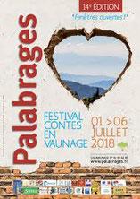 """Festival des arts du récit """"Palabrages"""""""