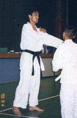 2002.08.04 夏合宿 指導員(黒帯)