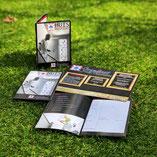 informatieboekje, flyers A5, zwart, foto's, Grandioost schilder & decoratie werken, Loosdrecht, beste schilder