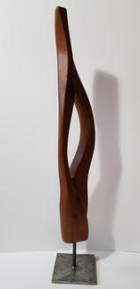 edelholz, skulptur, abstrakt, gunnar mozer