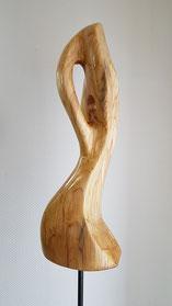 abstrakt, holzskulptur, gunnar mozer