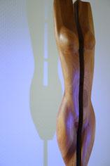 akt, holzskulpturen, kirschbaum, gunnar mozer