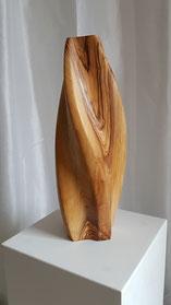 edelholz, holzskulptur, abstrakt, olivenbaum, gunnar mozer