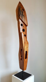 holzskulptur, abstrakt, gunnar mozer, odenwald