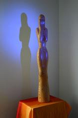 akt, holzskulpturen, gunnar mozer