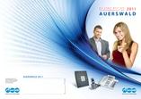 Auerswald Produktkatalog 2011: Gesamtkatalog und Technikdetails für Insider