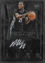 ANDREW WIGGINS / Rookie Auto - No. L-AW  (#d/25)